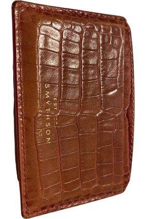 Smythson Leather card wallet