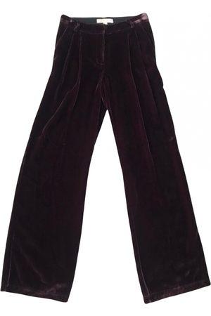 Michael Kors Velvet straight pants