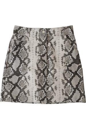 Maje Women Mini Skirts - Leather mini skirt
