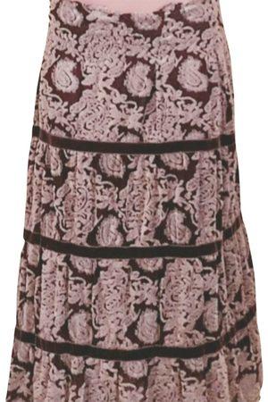 SINEQUANONE Velvet maxi skirt