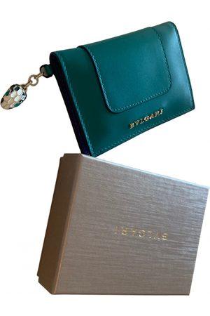 Bvlgari Serpenti leather wallet