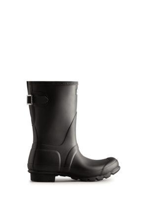 Hunter Women's Short Back Adjustable Rain Boots