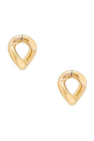 Rosantica Amy Earrings in Metallic