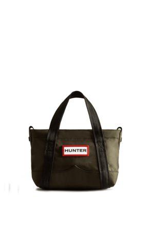 Hunter Nylon Mini Top Clip Tote Bag