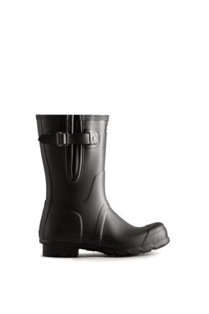 Hunter Men's Short Side Adjustable Rain Boots