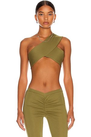 Miaou Elvis Top in Olive