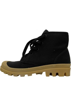 GIA Cloth lace up boots