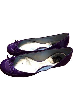 COLISEE DE SACHA Patent leather Ballet flats