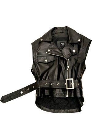 NU Leather short vest