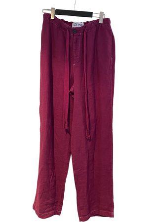 Loewe Linen trousers