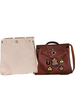 Hermès Herbag cloth handbag