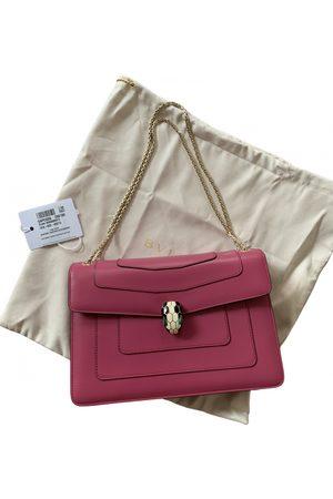 Bvlgari Serpenti leather handbag