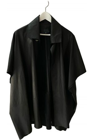Hotel Particulier Leather cape
