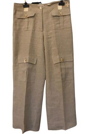 JC DE CASTELBAJAC Linen large pants
