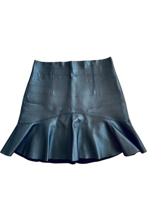 Dsquared2 Women Mini Skirts - Leather mini skirt