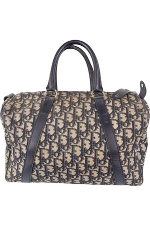 Dior Trotter cloth bowling bag