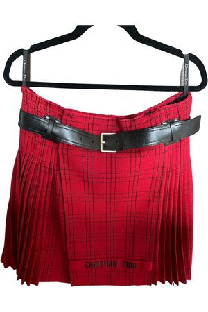 Dior Wool mini skirt
