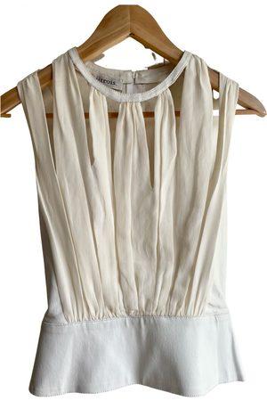 JITROIS Leather camisole