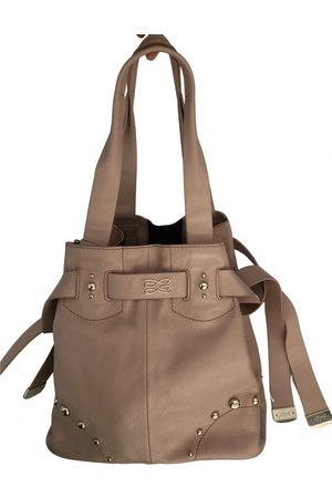 LANCEL Gousset leather handbag