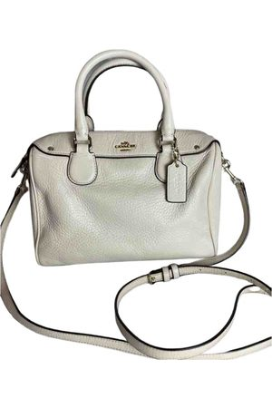 Coach Leather bowling bag