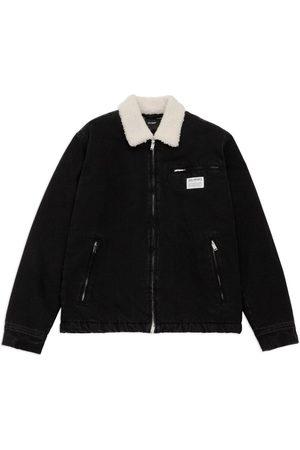 Axel Arigato Men Denim Jackets - Crew Padded Denim Jacket