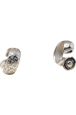 Hermès White gold earrings