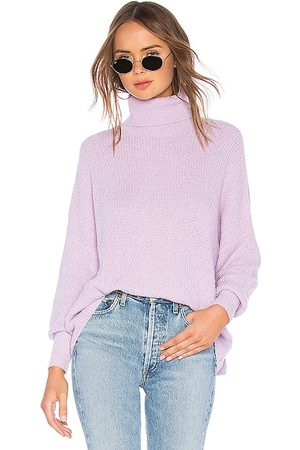 Lovers + Friends Jade Sweater in Lavender.