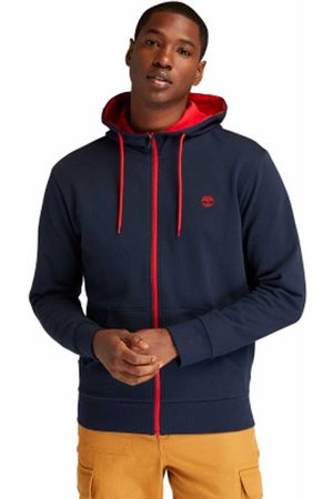 Timberland Oyster Full Zip Sweatshirt M Dark Sapphire