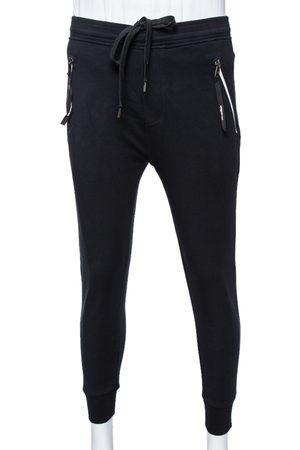 Neil Barrett Knit Zipped Pocket Low Rise Skinny Fit Track Trousers L