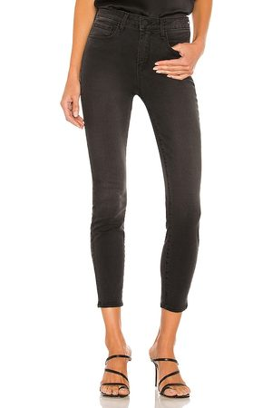 L'Agence Margot High Rise Skinny in Charcoal.