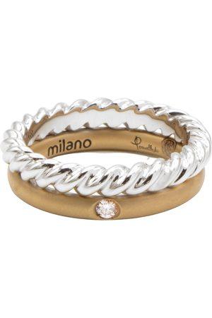 Pomellato Milano white gold ring