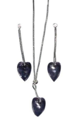 Swarovski Silver jewellery set