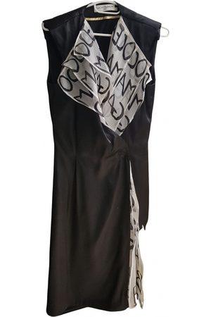 JC DE CASTELBAJAC Silk mid-length dress