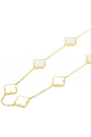 Van cleef Pure Alhambra yellow gold necklace