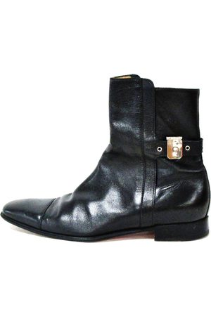 Hermès Leather boots