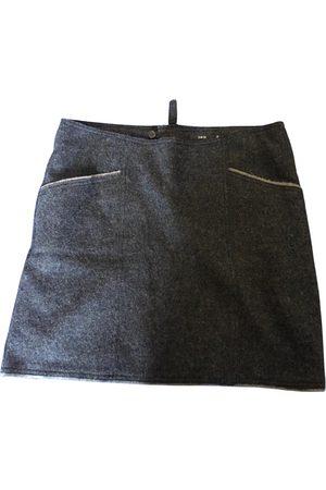 Zero Wool mini skirt