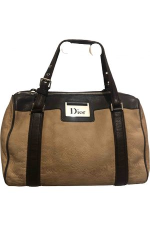 Dior Leather bowling bag