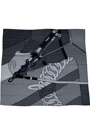 Hermès Carré H 100 cashmere scarf & pocket square