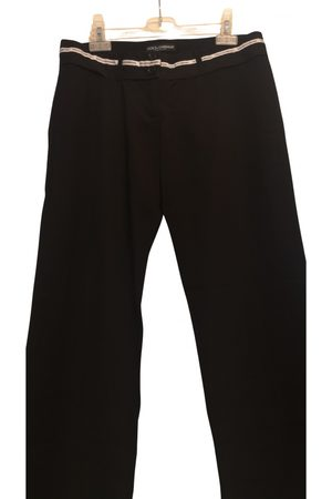 Dolce & Gabbana Wool straight pants