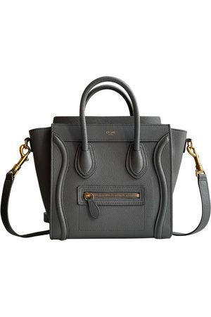 Céline Nano Luggage leather bag