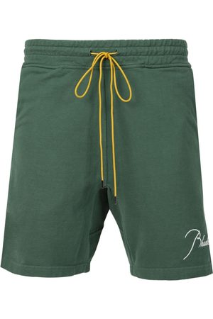 Rhude Terry Shorts Forrest Green