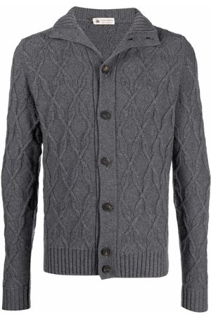 Colombo Cable-Knit Cashmere Cardigan
