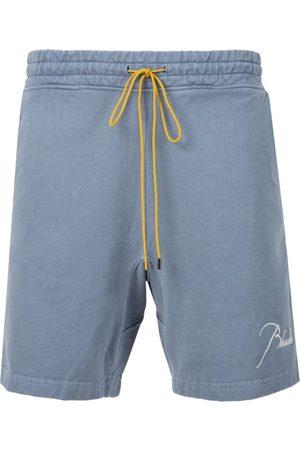Rhude Terry Shorts Blue