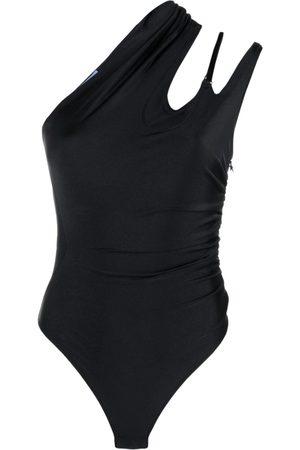 Mugler Asymmetric Bodysuit