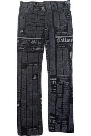 John Galliano Straight jeans