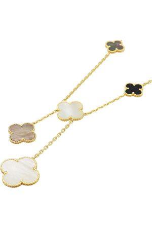 Van cleef Magic Alhambra yellow necklace