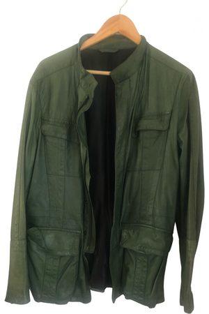 DIRK BIKKEMBERGS Leather vest