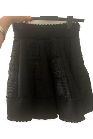 Maje Fall Winter 2019 wool mini skirt
