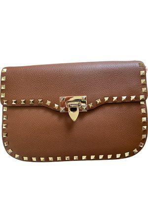 VALENTINO GARAVANI Guitar Rockstud leather handbag
