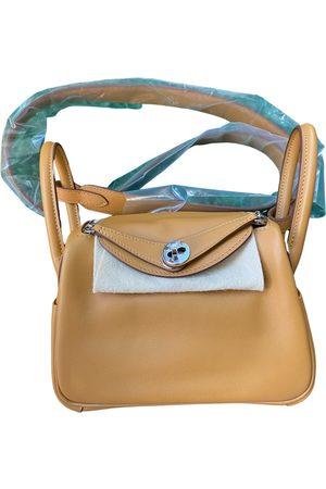 Hermès Lindy leather handbag